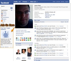 facebook jason baer 300x256 3 Reasons Why Social Networks Are Bad Ad Buys