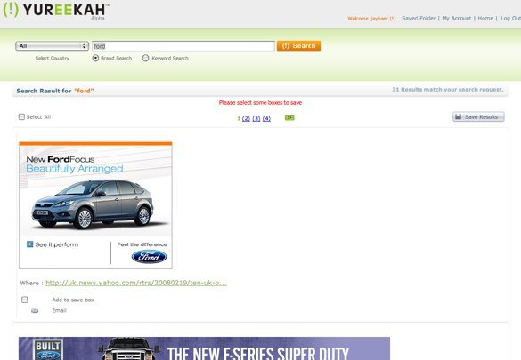 Yureekah - Online Ad Search Engine