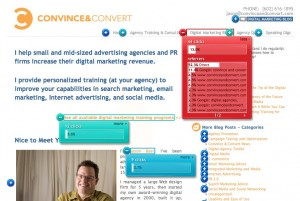 home 52888 e28094 crazy egg 300x201 Digital Agency Toolkit   Use CrazyEgg to Test Web Layouts