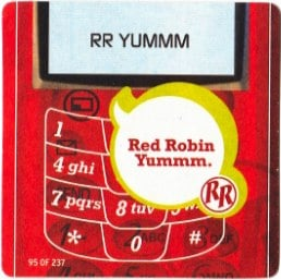 red robin txt message2 Red Robins Email Program Has a Broken Wing