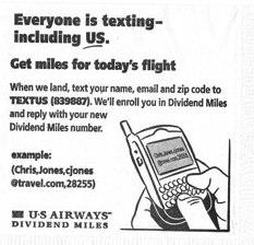 img Mobile Opt in Flies at US Airways