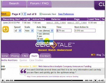 Click to view ClickTale demo