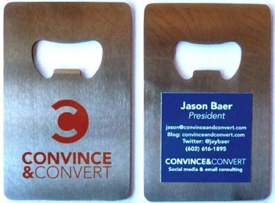 convince and convert sxsw Interactive SXSW Business Card
