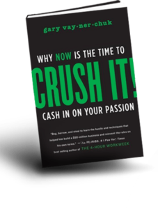 book header trans 227x300 Make Dough From What You Know   A Review of Crush It!
