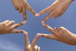 star hands