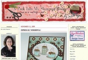 A Peek Into My Stamping Room 300x205 Social Media Marketing Case Study   More is More