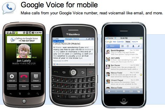 Google Voice for your phone