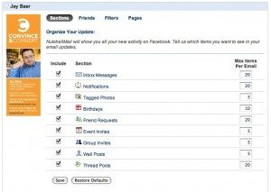 Customize Your Facebook Account NutshellMail 300x213 Turn the Tables on Social Media with NutshellMail