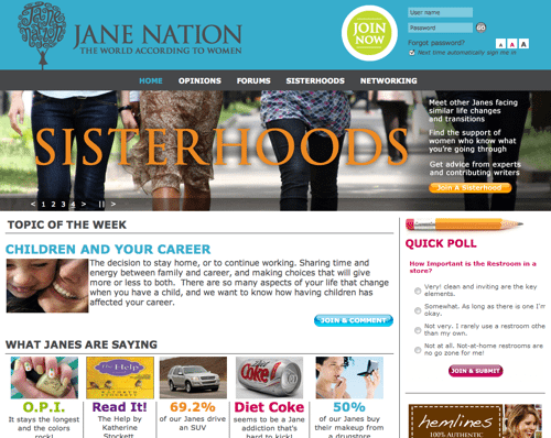 HOME Jane Nation Online Community With Purpose and a Plan