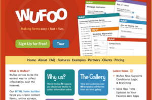 Wufoo  Online Form Builder Create Web Forms Surveys 300x197 Making Boring Things Sexy   the Wufoo Way
