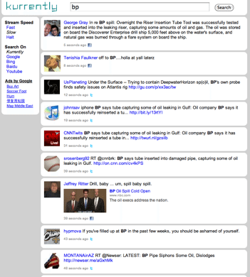 bp Kurrently Kurrently Revolutionizes Real Time Search With Twitter + Facebook Results