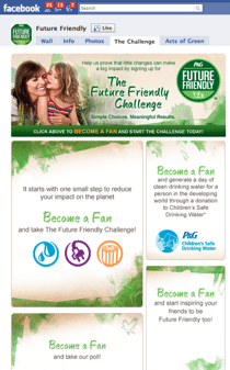 Future Friendly Challenge Tying Together Social Media and Corporate Social Responsibility