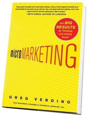 microMARKETING microMARKETING Requires Bayonets, Not Grenades