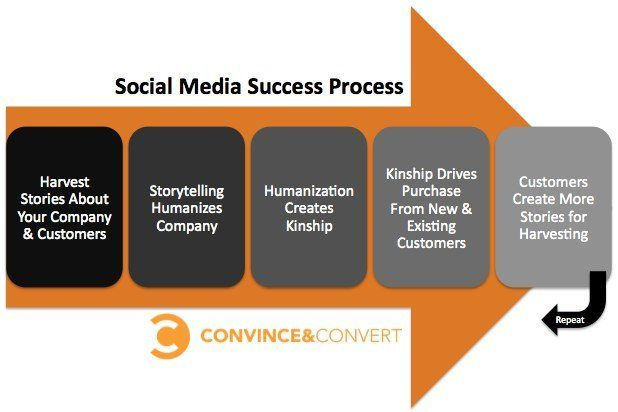social media success process