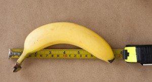 banana ruler 300x163 How Size Matters in the Social Media ROI Debate