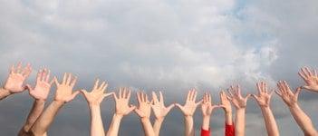 open community hands