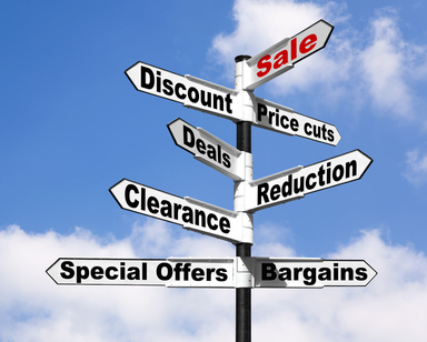 social media special offers