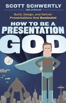 How to Be a Presentation God Book Cover Ethos3 A Presentation Design Agency How to Be a Presentation God