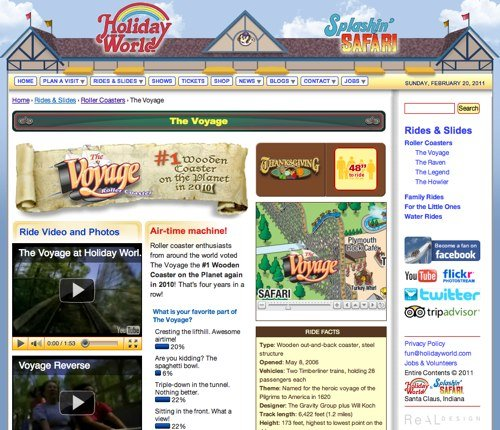The Voyage Holiday World Social FAQ