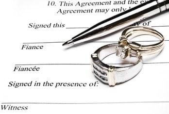 pre-nupital agreement