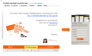 slideshare tips 1 300x182 Top 5 Slideshare Marketing Tips