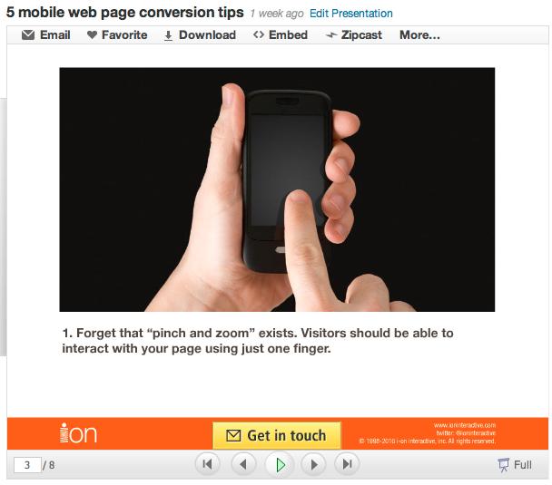 Top 5 Slideshare Marketing Tips
