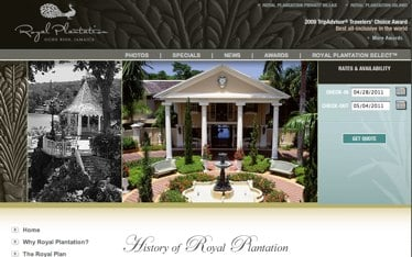 The History of Royal Plantation, Formerly Plantation Inn in Ocho Rios, Jamaica