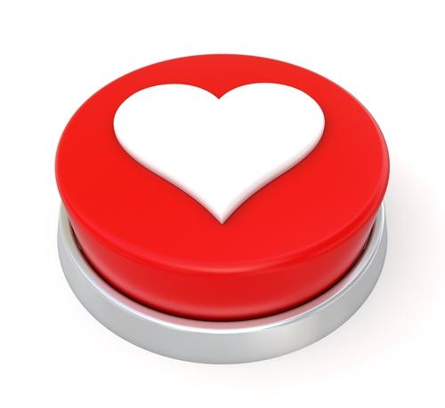 facebook love button
