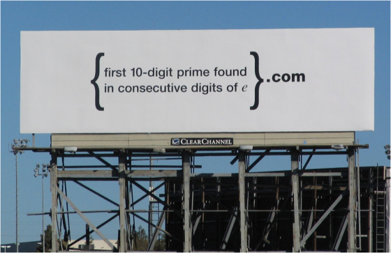 Google Billboard e1307123045302 Google, Social Media, and the Wisdom of Enigmas