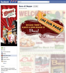 Buca di Beppo 11 1 270x300 Did This National Restaurant Chain Put Too Much Love Into the Like?