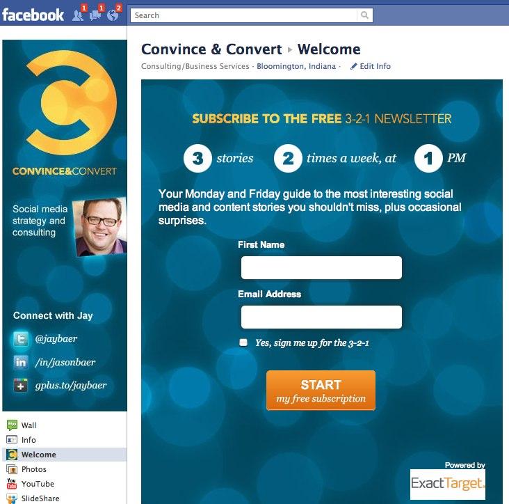 Convince & Convert on Facebook