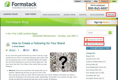How to Create a Following for Your Brand Formstack Blog e1311446932941 Calculate Your Blogging ROI in 9 Steps