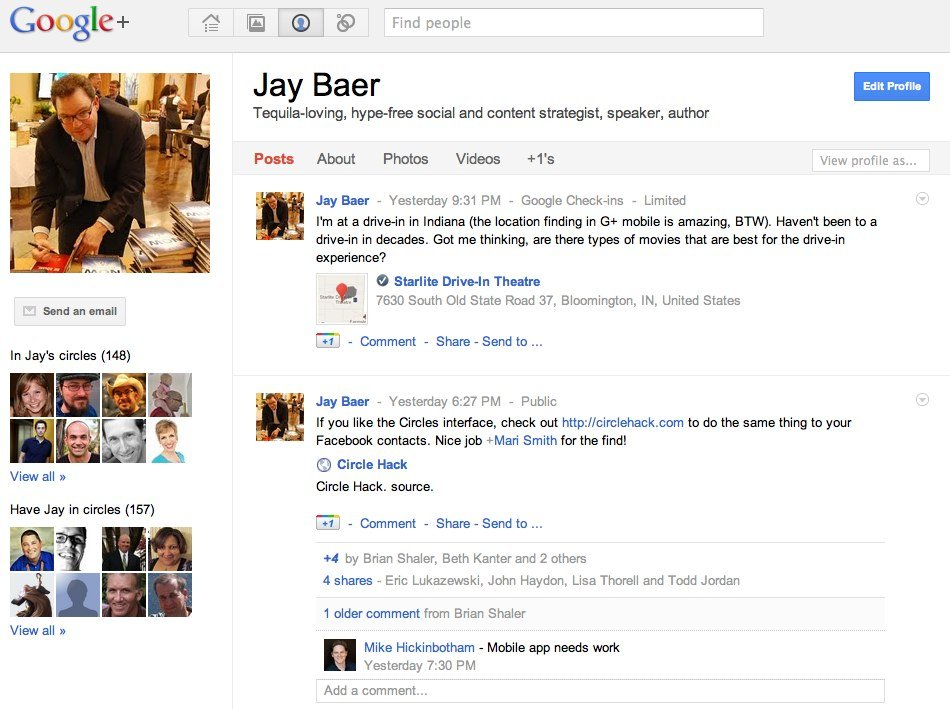 Jay Baer Google+ Why Google Has the Hammer To Make Businesses Use Google Plus