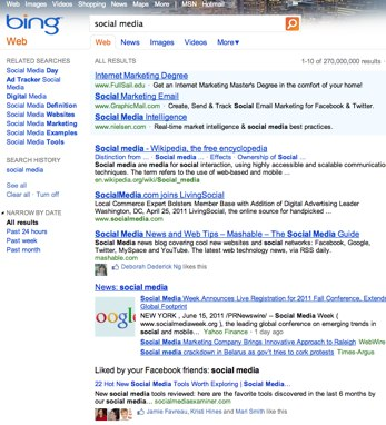 social media Bing Why Google Has the Hammer To Make Businesses Use Google Plus