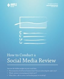 SocialMediaReview ArgyleSocial.pdf page 2 of 24 Social Media Optimization 3 Steps to Tweeting with a Purpose
