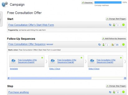 Campaign Builder 1 e1323028790192 Marketing Automation for Everyone with Infusionsoft