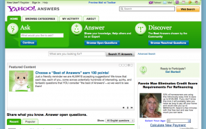 Screen Shot 2012 02 06 at 7.15.42 PM 300x188 What Do You Know? Examining the Big 4 Online Answer Sites