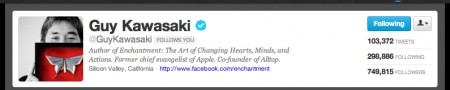 3 Guy Kawasaki guykawasaki on Twitter e1332705038657 Is Social Media Strategy Required or Redundant?