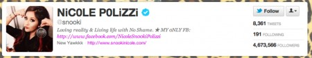 NiC0LE P0LiZZi snooki on Twitter e1332704842332 Is Social Media Strategy Required or Redundant?