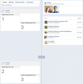 new facebook pages timeline lack of recent activity e1330892316161 14 Ways New Facebook Betrays Small Business