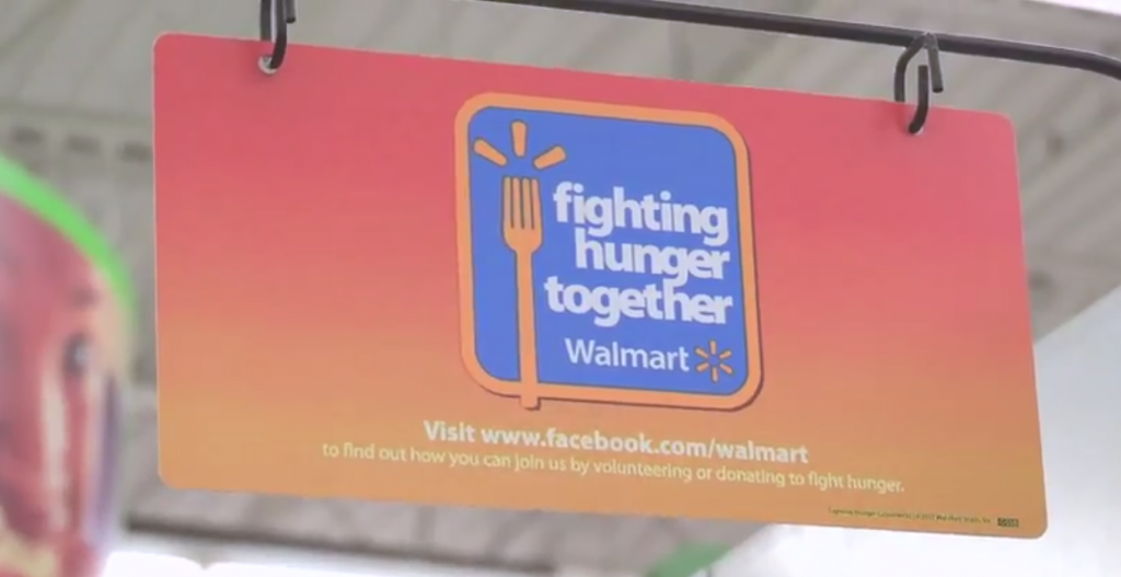 Walmart Fighting Hunger Together Facebook Campaign