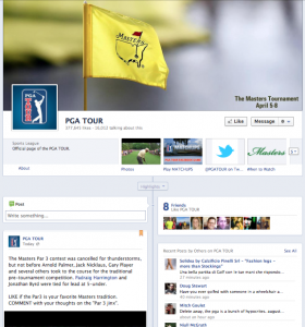 PGA Tour on Facebook