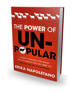 Unpopular Book 245x300 Think Narrow and Harness the Power of UnPopular