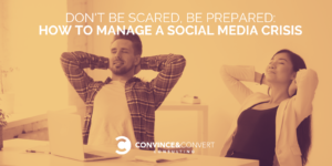 how to manage a social media crisis