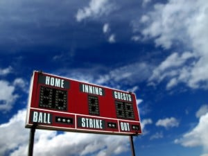 scoreboard 300x225 The Most Overrated Social Media Metric