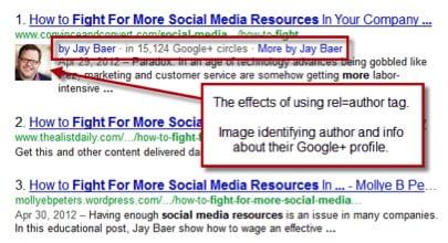 Google Author Example