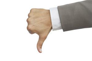 bigstock dislike gesture 17522666 300x200 Social Pros 22   Evan Hamilton, UserVoice