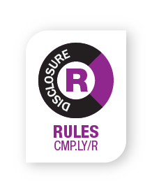 CMPLY Rules Disclosure Vertical