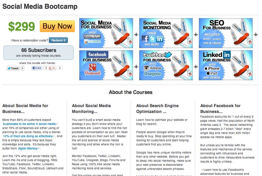 Screen Shot 2012 08 23 at 4.58.35 PM Social Pros 30   Eric Schwartzman, Social Media Boot Camp
