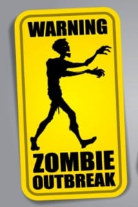 bigstock Zombie Outbreak Warning Sticke 32846144 200x300 Social Pros 27   Jeremiah Owyang and Rebecca Lieb